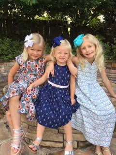 Sisters in Lilly Charleston Dresses