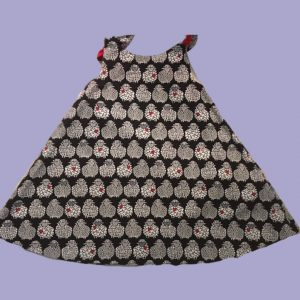 Baa Baa Black Sheep Slip on Tie Dress